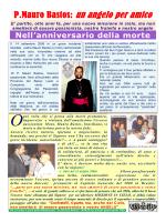 VIII anniversario della morte di Padre Bastos