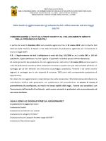 informativa graduatorie del collocamento mirato legge 68/99