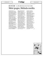 Mele ipogee, Melinda medita - Federazione Trentina della