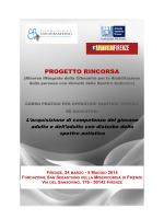 Il programma - Autismo Firenze