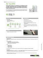 Slc® Eco EP21 - the Kerakoll products area