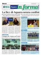 BCC Aquara – metropolis 9 giugno