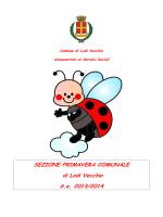 SEZIONE PRIMAVERA COMUNALE di Lodi Vecchio A.e. 2013/2014