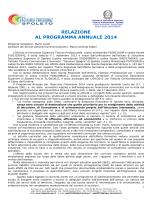 Relazione Programma Annuale 2014 - IIS Tecnico