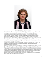 Curriculum Vitae – English version Maria Cristina Bartolomei