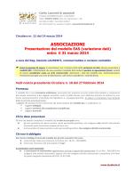 CRC 21_2014 Associazioni presentazione mod. EAS