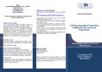 Brochure del corso - Sicurezza sul lavoro