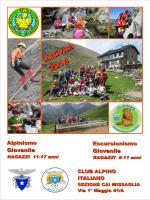 Escurs. e Alpinismo Giovanile