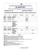 comunicato esami idoneità - Istituto Professionale Statale