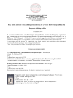 Etnopsichiatria - Istituzione Gian Franco Minguzzi