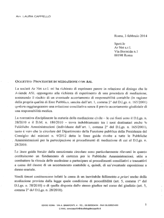 Cappello_mediazione_rc_medica