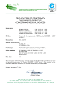DECLARATION OF CONFORMITY TO 93/42/EEC