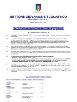 C.U. N. 28 del 09/06/2014 SGS Dilettanti