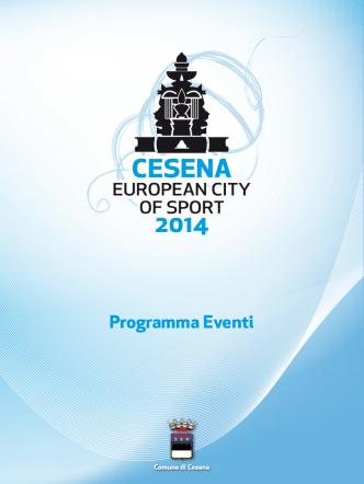 brochure copia - Cesena città Europea dello sport 2014