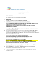 Regolamento Regionale Giovanissimi 2014