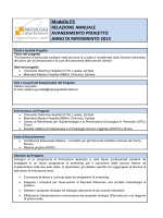 P3 anno 2014 - Patologi Oltre Frontiera ONG
