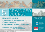 ADVANCED COURSE on endoscopic management of