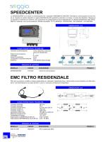 SPEEDCENTER EMC FILTRO RESIDENZIALE