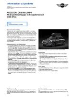 Kit di postmontaggio fari supplementari MINI (F56)