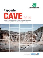 Rapporto Cave 2014