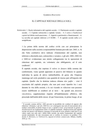 Articoli - IlDirittoDegliAffari.It