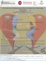 Locandina - Dipartimento di Psicologia Dinamica e Clinica