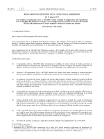 REGOLAMENTO DI ESECUZIONE (UE) N. 718/2014 DELLA
