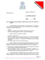 Pagina 1 di 3 Bergamo, 5 settembre 2014 CIRCOLARE N
