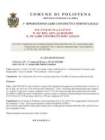 Det. n. 962/2014 - Comune di Polistena