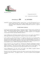 sezione lavoro - nn. 6551-6552-6550 del 12.6.14 su ricorsi proposti