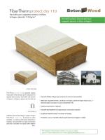 Pannello cappotto termico in fibra di legno   FiberTherm Protect dry