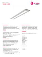 Depliant èclairé: scheda tecnica TOUCH LED