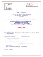 Programma convegno PROOF 21-1 - Progetto Odontologia Forense