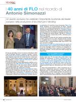 I 40 anni di FLO nel ricordo di antonio Simonazzi