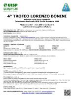 4° TROFEO LORENZO BONINI