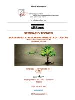 SEMINARIO TECNICO - Ordine Architetti Rimini