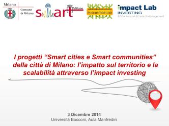 clicca qui - Milano Smart City