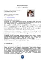 Principali pubblicazioni - Università degli Studi di Milano