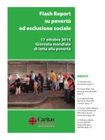 Flash Report su povertà ed esclusione sociale