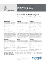 Steinfels 619 - Steinfels Swiss