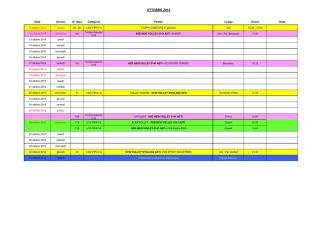 Calendario UNIFICATO - ASD New Volley 0141 Asti