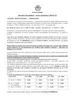 Servizio Scuolabus - anno scolastico 2014/15 - Alghero
