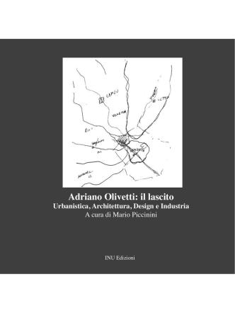 Adriano Olivetti: il lascito (copertina ed indice)