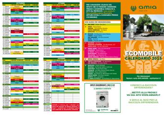 Calendario Ecomobile 2015