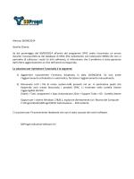 Almese, 09/04/2014 Gentile Cliente Se dal pomeriggio