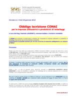 CRC 08_2014 Adempimenti CONAI