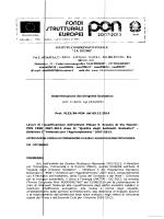 Aggiudicazione provvisoria - Scuola Media Statale Antonio Ciccone