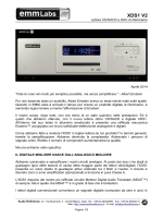 EMM Labs XDS1 V2 - Audio Reference