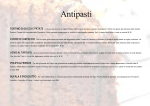 Antipasti - Enoteca a Trastevere