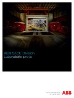 ABB SACE Division Laboratorio prove